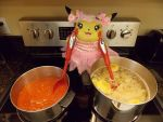 Cooking With Chula by pikabellechu