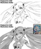 GSR Racing Miku ~My Illustration~ by shanaxtaiga