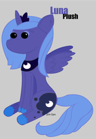 A Luna Plush appears by Jim-San