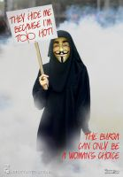 Femen and the Burqa by Bragon-the-bat