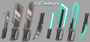 Cross Fate: Melee Weapons 1 by DKDevil