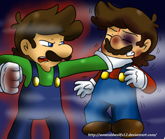 Good-bye Mario by MariobrosYaoiFan12
