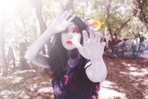 Dead Aradia cosplay by Graipefruit