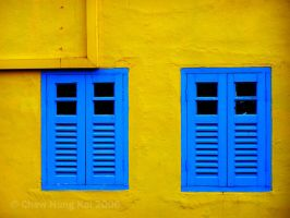 Blue Windows by Akai-Z