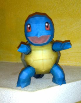 Squirtle papercraft by LordBruco