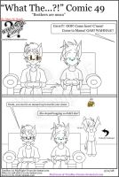 'What The' Comic 49 by TomBoy-Comics