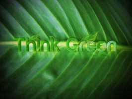 Think Green by Ransie3