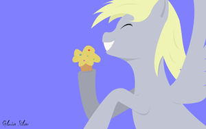 Wallpaper - Derpy Hooves by Glaive-Silver