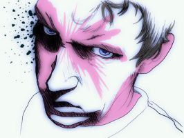 Self Portrait of Anger by Bolarg