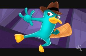 Perry the Platypus by ChannelChangers