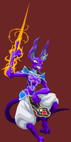Lord Beerus by Tyrranux