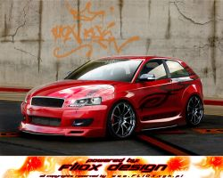 Audi A3 - Red Devil by fliOx