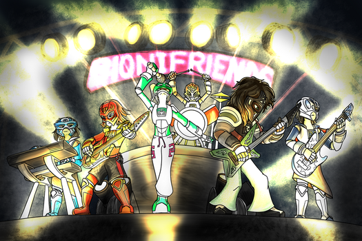 BioniFriends Band by Scorpion-Strike