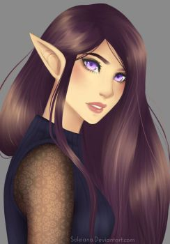 Painting Practice by Soleiana