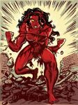 Savage Red She-Hulk by TheCosmicBeholder