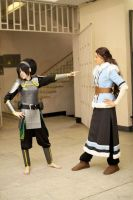 Toph, Katara - Go away! by TophWei