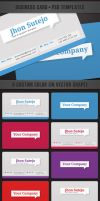 freebie: Callout Business Card by yahya12