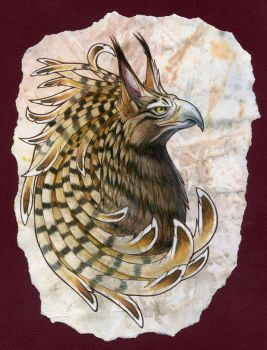 barred griffin by hibbary