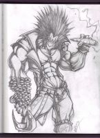 lobo sketch by VASS-comics
