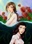 Roses have thorns by Miralith