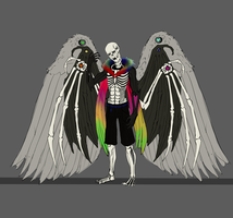 Sans Seraphim flat by ChroniclerEnigma