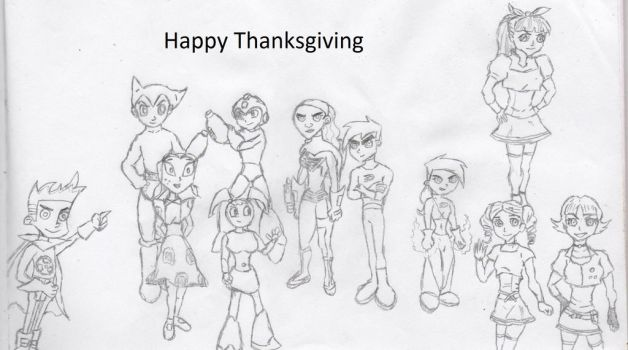 Happy Thanksgiving by 7Chaos13
