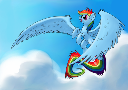 Up in the sky by Underpable