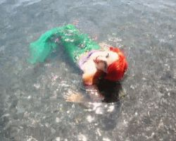 The Little Mermaid GIF by NatalieCartman