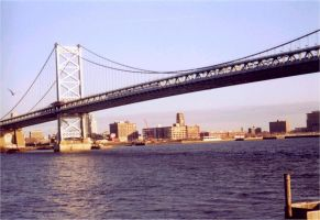 The Ben Franklin Bridge 2 by fe208