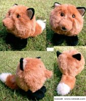 Foxball soft toy by Rahball