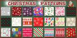 Christmas   Patterns Ps by Photos-Loutche