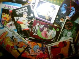 manga collection by allanral