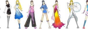 Spring Skies Collection by Luai-lashire