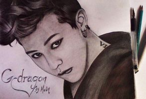 G Dragon by MiriArt014