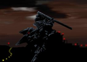 Aaliyah - Armored Core 4 by Feinhert