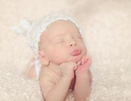 newborn baby by yolandabanfield