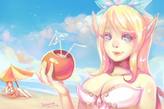 Pool Party Janna by rozemira