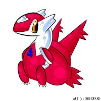 Latias by chibidrake