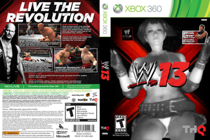 WWE '13: Candy Edition (Full Cover) by TheRumbleRoseNetwork