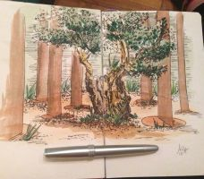 Another Sketching Day :) by F1r3lectrical