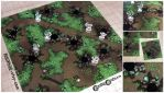 Tabletop RPG Forest Terrain Tiles by Pasiphilo