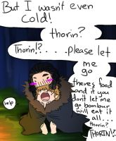 Let him get his food Thorin! by SeniorPotato