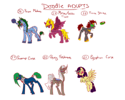 Doodle pony adopts 20 CLOSED by Sarahostervig