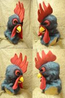 RJ Rooster Head by temperance