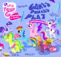 Games Ponies Play title card by seriousdog