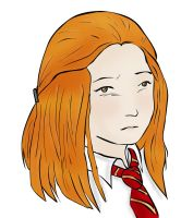 Young ginny - colo by Darkvickie