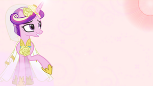Princess Cadance Wallpaper by DixieRarity