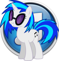 Vinyl Scratch iTunes Icon by LostInTheTrees