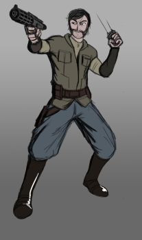 /tg/ drawthread - Star Wars combat commander by Garlic-Demon
