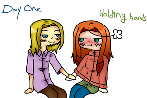 30 Day OTP Challenge - Day 1 - Holding hands by APH-RepblicOfIreland